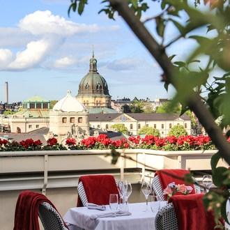 Sayan Isaksson gästade Bank hotel med exklusivt grillkoncept på taket